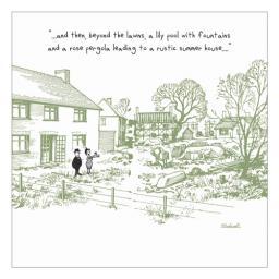 Thelwell Card - Garden Plan