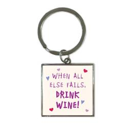 Key Ring - Wine