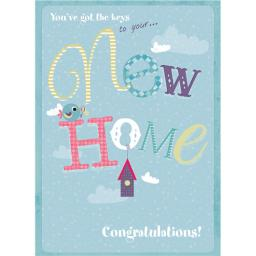 New Home Card - Birdy
