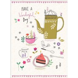 Marie Curie Card (Range 2) - Coffee & Cake