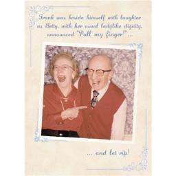 What A Hoot Card - Old Couple