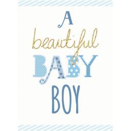 New Baby Card - Baby Boy