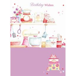 Teacups & Trinkets Card - Kitchen Treats