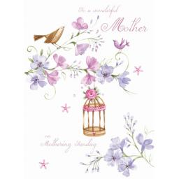 Mother's Day Card - Birdcage