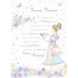 Sentiments Card - Yummy Mummy