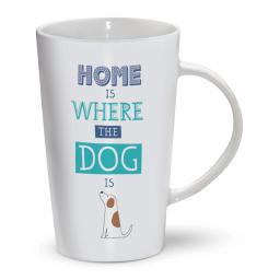 Latte Mug - Where The Dog Is