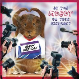 Crazy Crew Card - Mobot Birthday