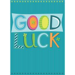 Good Luck Card - Good Luck Text