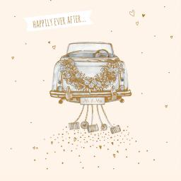 Wedding Card - Wedding Car
