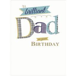Family Circle Card - Dad (Text)