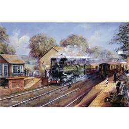 Artists Loft Card - Steam Train