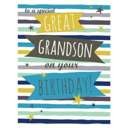 Family Circle Card - Text (Great Grandson)