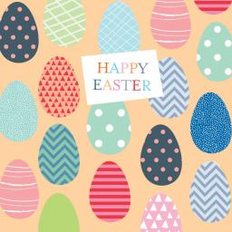 Easter Card Pack - Colourful Eggs