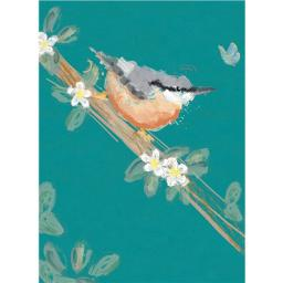 RSPB Card - Nuthatch