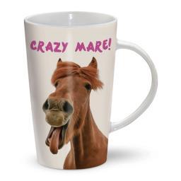 Latte Mug - Horse - Crazy Mare