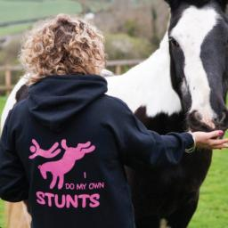 I Do My Own Stunts Hoodie