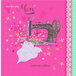 Mother's Day Card - Vintage Sewing