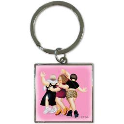 Beryl Cook Keyring - End Of Term