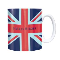 Straight Sided Mug - Help For Heroes 'Union Jack'