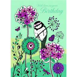 Marie Curie Card (Range 1) - Floral Fields