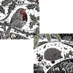 RSPB Luxury Christmas Card Pack - Enchanted Wildlife