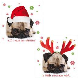 Luxury Christmas Card Pack - Cute Christmas