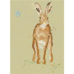 RSPB Card - Brown Hare