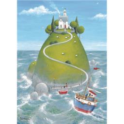 Peter Adderley Card - The Island