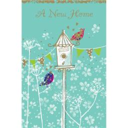 New Home Card - Bird House