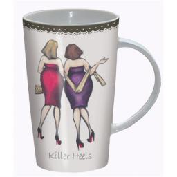 Boxed Latte Mug - Ladies Who Lunch - Killer Heels