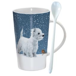 Chocolatte Mugs - Winter Westies