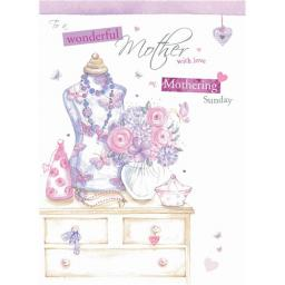 Mother's Day Card - Dressing Table