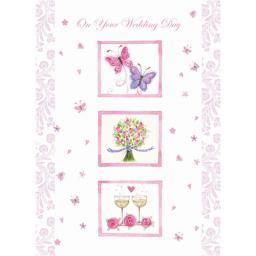 Wedding Card - Wedding Icons
