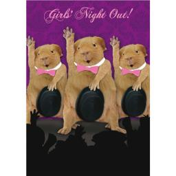 Sound Bites Musical Card - Girls Night Out