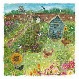 Country Lanes Card - The Sunflower Garden