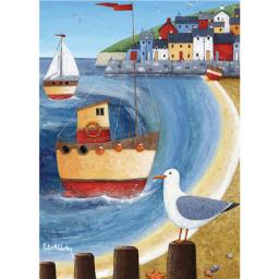 Peter Adderley Stationery - Notecard Pack Seagull Lookout