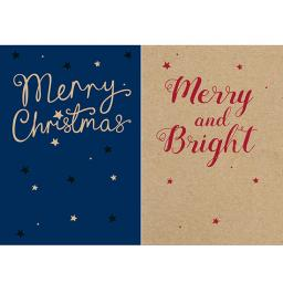 Help For Heroes Christmas Card Pack (Medium) - Merry Christmas
