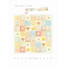 New Baby Card - Grandchild