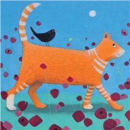 Ailsa Black Card Collection - Ginger Cat 'Day Tripper'