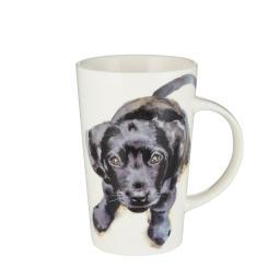 Latte Mug - Black Labrador
