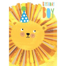 Hip Hip Hooray Card - Lionel The Lion