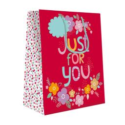 Gift Bag (Medium) - Just For You Floral