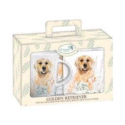 Tea Time Gift Set - Golden Retriever