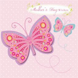 Mother's Day Card - Butterfly