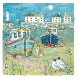 Seaside Charm Card - The Harbour