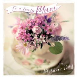 Mother's Day Card - Spring Flowers
