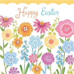 Easter Card Pack - Easter Flower Bed