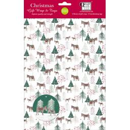 Christmas Wrap & Tags - Donkey Wonderland