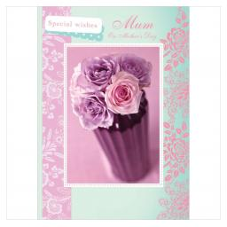 Mother's Day Card - Contemporary Roses