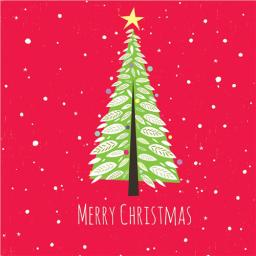 Charity Christmas Card Pack - Christmas Tree